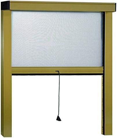 Irs 75516 Zanzariere Sottili Verticale Bronzato 160 x 170 cm
