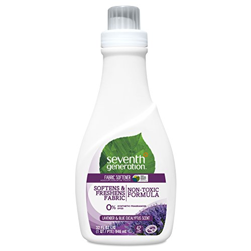 Seventh Generation Fabric Softener, Blue Eucalyptus and Lavender, 32oz