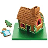 KitchenCraft Sweetly Does It Christmas Gingerbread House Kit with 7 Cookie Cutters, Metal