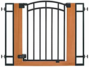 Summer Infant Metal and Wood Walk-Thru Gate (Discontinued by Manufacturer)