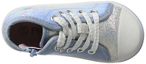Die Eiskönigin Fz003515, Zapatillas Altas Para Niñas Blau (WHITE/M.BLUE 312)
