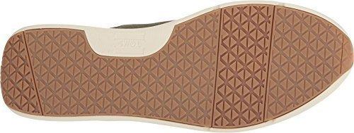 TOMS Men's Cabrillo Suede Sneaker, Size: 10 D(M) US, Color: Pine Suede