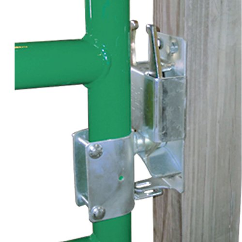 Co-Line Lockable 2-Way Livestock Gate Latch (Two Way Gate Latch For Wooden Fence)