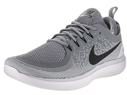 6f3fa92d41762 Galleon - Nike Mens Free Rn Distance 2 Cool Grey Black Wolf Grey Running  Shoe Size 9
