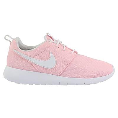 Nike Kids Roshe One (GS) Running Shoe (5Y, Prism Pink/White/Safety Orange)