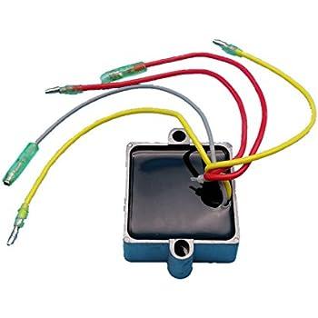 tuzliufi replace voltage regulator rectifier mercury mariner outboard 5  wires 25hp 30hp 40hp 65hp 70hp 75hp 80hp 90hp 100hp 105hp 115hp 125hp  v-135hp