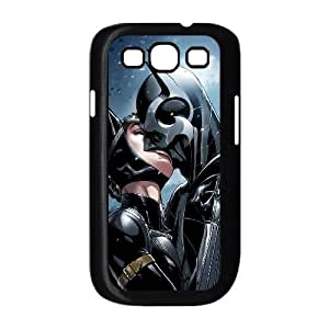 YUAHS(TM) Customized Hard Back Phone Case for Samsung Galaxy S3 I9300 with Batman and Catwoman YAS924485