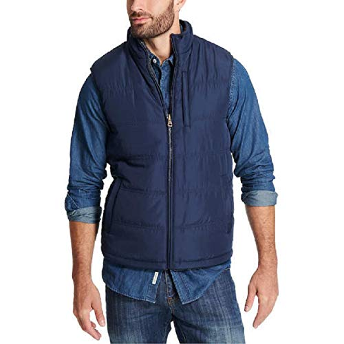 - Weatherproof Vintage Men's Reversible Vest Navy Size Large