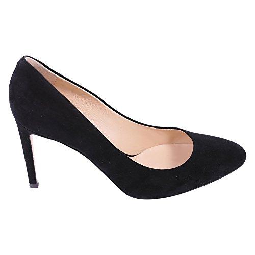 Femme Noir Giuseppe Design Chaussures Zanotti Cuir À Talons E76062020 RHx6qAxwa
