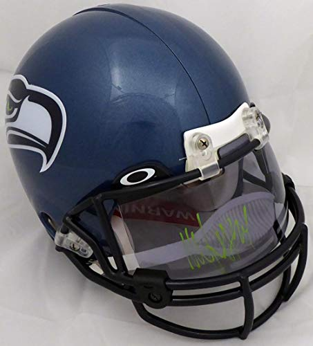 2fd7f790 Marshawn Lynch Signed Helmet - Oakley Visor On Throwback Full Size  Authentic Proline ML Holo #12017 - Autographed NFL Helmets