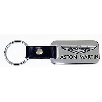Amazon.com: Triple-C Aston Martin Leather and Enamel Key ...