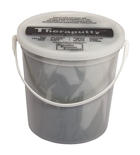 Theraputty 10-2655 Cando Plus Antimicrobial Theraputty, Black