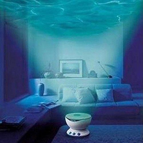 XYD-LED de ondas de luz de proyección de proyector luz de noche de ...