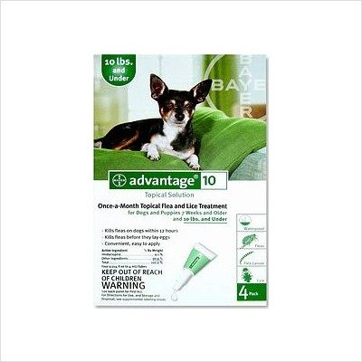Flea Control For Dogs And Puppies Under 10 Lbs 4 Month Supply, My Pet Supplies