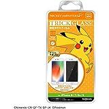 iPhone 8 ガラスフィルム/iPhone 7 ガラスフィルム/iPhone 6s ガラスフィルム/iPhone 6 ガラスフィルム 『ポケットモンスター』/ポケモン トリック 強化 ガラス 10H/ピカチュウ