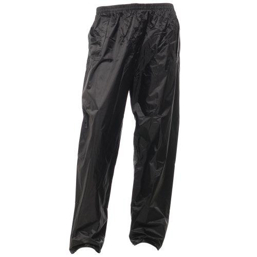 Regatta Mens Stormbreak Waterproof Windproof Over Trousers / Pants / Rain Wear (XL) (Black)