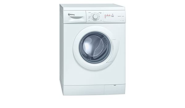 Balay 3TS60105A Independiente Carga frontal 6kg 1000RPM A Blanco ...