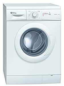 Balay 3TS60105A Independiente Carga frontal 6kg 1000RPM A Color blanco - Lavadora (Independiente, Carga frontal, A, A, C, Color blanco)