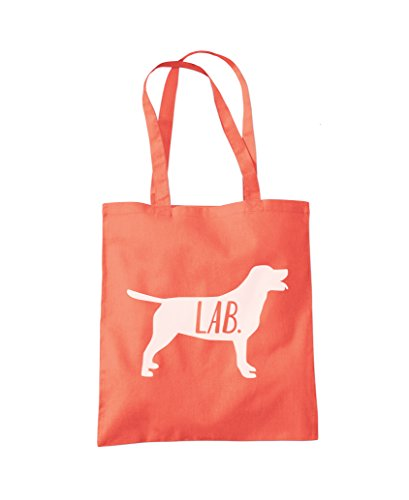 Bag Labrador Tote Fashion Coral Labrador Dog Dog Shopper q8gTHwa