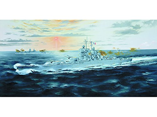 Trumpeter 1/700 05752 French Battleship Jean Bart 1955