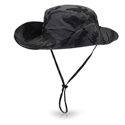 マウンテンハット 2way 迷彩 カモフラージュ サファリハット 日よけ帽子 サファリハット ひも付き つば広 帽子 折りたたみ ハット