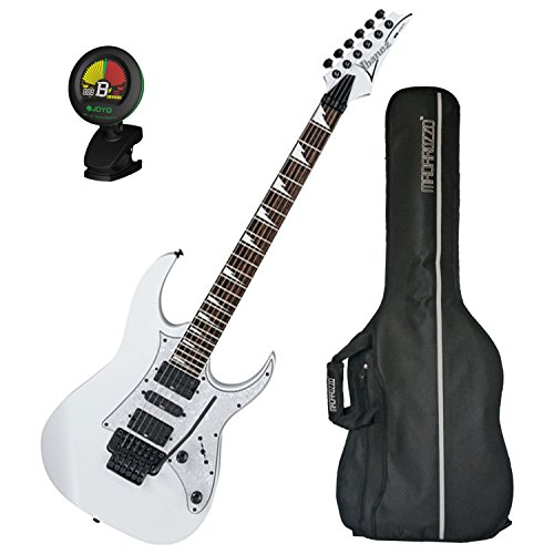 Ibanez RG450DXBWH Electric Guitar White w/ Gig Bag and Tuner! (Pickguard Floyd Rose)