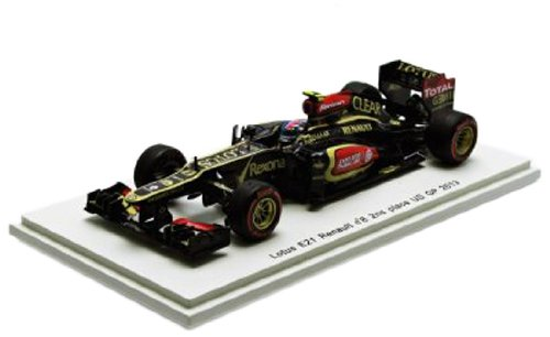 Lotus E21 Renault No.8 R. Grosjean 2nd Place US GP 2013 1:43