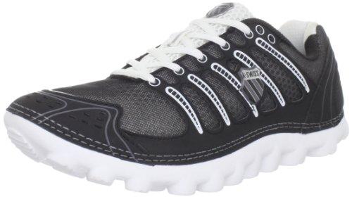 K-Swiss Men's Vertical Tubes Cali-Mari Low Running Shoe,Black/Castle Grey/White,6.5 M US For Sale