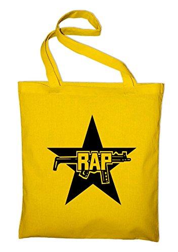 Hip green Bag Fun Punk Styletex23bagrapraf2 Jute Rap In Hop Logo Bags Yellow Plastic Green Cotton SaSHF4qwBp
