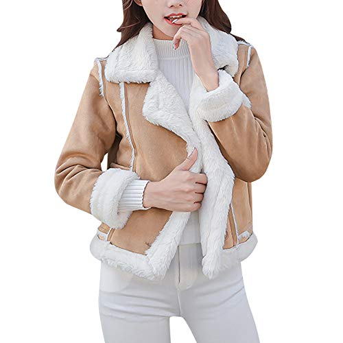 Short Ladies Gucci (Women Short Down Jacket Duseedik Winter Pockets Warm Fleece Velvet Floral Double Breasted Short Coat Jacket Cardigan)
