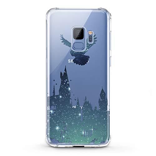 Lex Altern TPU Case for Samsung Galaxy A9 A8s A8 A7 A6s A5 A70 A50 Blue Watercolor Owl Harry Castle Cover Silicone Elegant Shiny Print Beautiful Kid Magician Boy Design Transparent Girls Joyful -