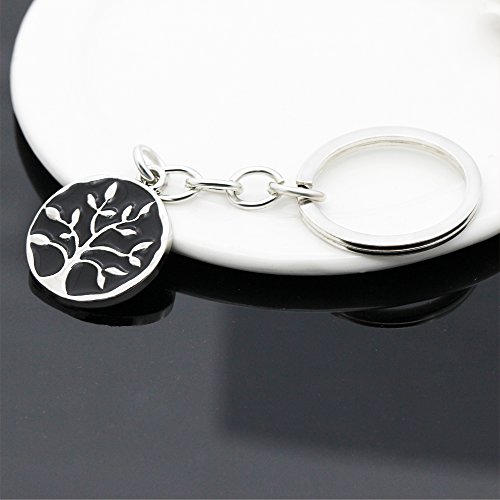 A friend may well be reckoned the masterpiece of nature - Double Side Key Chain Ring BBF Best Friend Gift Photo #3