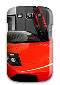 High-end Case Cover Protector For Galaxy S3(lamborghini Murcielago Lp6 Roadster Red)