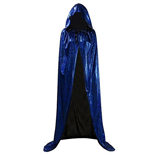 Ourlove Fashion Unisex Full Length Hooded Cape Halloween Christmas Adult Cloak