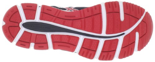 Asics - Zapatillas de running para hombre Black-Red-White