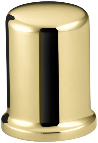 Kohler K9111PB Air Gap Cover with Collar, Vibrant Polished Brass by Kohler