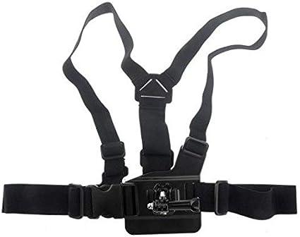 حامل كاميرا على الراس مرن مع حزام صدر حامل لكاميرا جو برو اتش دي هيرو 1 2 3 3 باطوال قابلة للتعديل