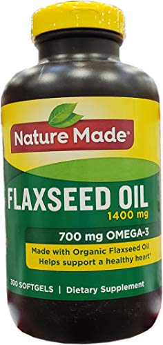 Nature Made Organic Omega 3 Flaxseed Oil 1,400 mg