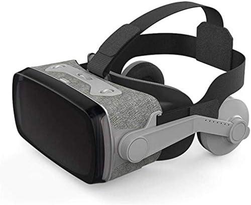 ZGYQGOO Auriculares Realidad Virtual, Gafas 3D VR, Joystick Controlador Juego, Joystick Interruptor Teclado vibración Dual para teléfono Inteligente, ...