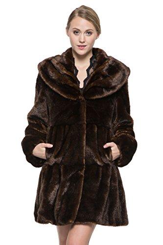 Girls Faux Shearling Coats - 9