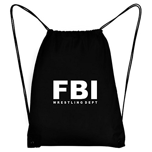 Teeburon FBI DEPT Wrestling Sport Bag by Teeburon