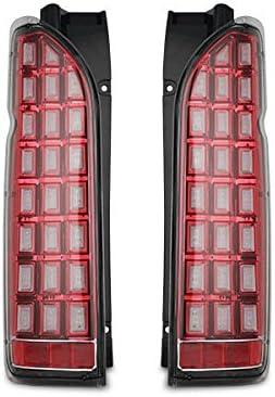流れるウインカ ハイエ ス レジアスエ ス 200系 シ ケンシャルウインカ LED テ ルランプ H16~ (インナ レッド クリアレンズ)