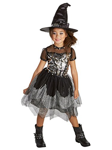 Silver Rock Witch Child Costume (Glam Rocker Kids Costumes)