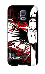 For Galaxy S5 Tpu Phone Case Cover(marilyn Manson)