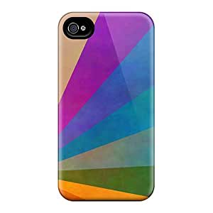 Perfect Daft Punk Rainbow Case Cover Skin For Iphone 4/4s Phone Case