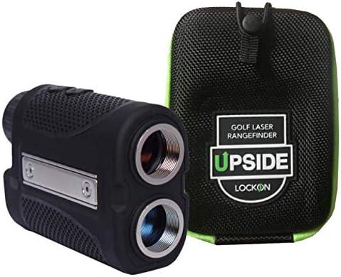 Upside Golf LOCKON Rangefinder - Worlds First Built-in Magnet