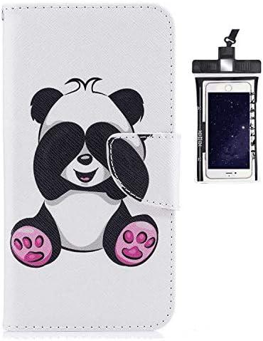 Huawei P30 PRO レザー ケース, 手帳型 Huawei P30 PRO 本革 財布 携帯ケース 耐摩擦 ビジネス カバー収納 無料付スマホ防水ポーチIPX8 Judicious