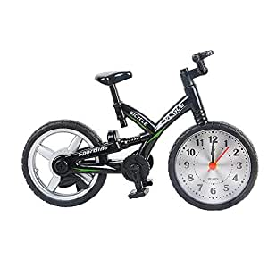Wshat Reloj Alarma de Bicicleta Personalidad Creativa Niños ...