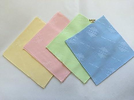 3 piezas microfibra vasos lente paño de limpieza de la pantalla Gafas Lente de Cámara Limpiador Limpiaparabrisas - Verde: Amazon.es: Electrónica