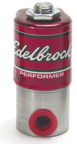 Fuel Performer Solenoid (Edelbrock 72050 Performer Stainless Steel Fuel Solenoid)